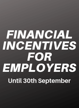 Employer incentives have been extended and increased
